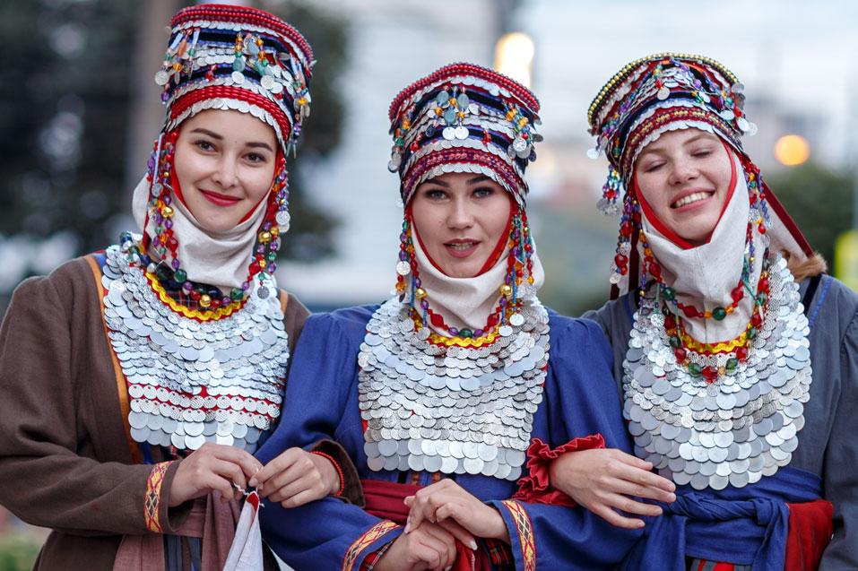 традиционные чувашские костюмы