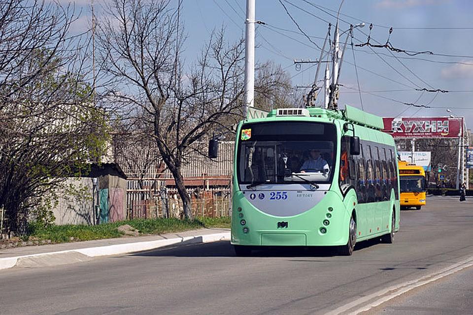 Троллейбус в Тирасполе