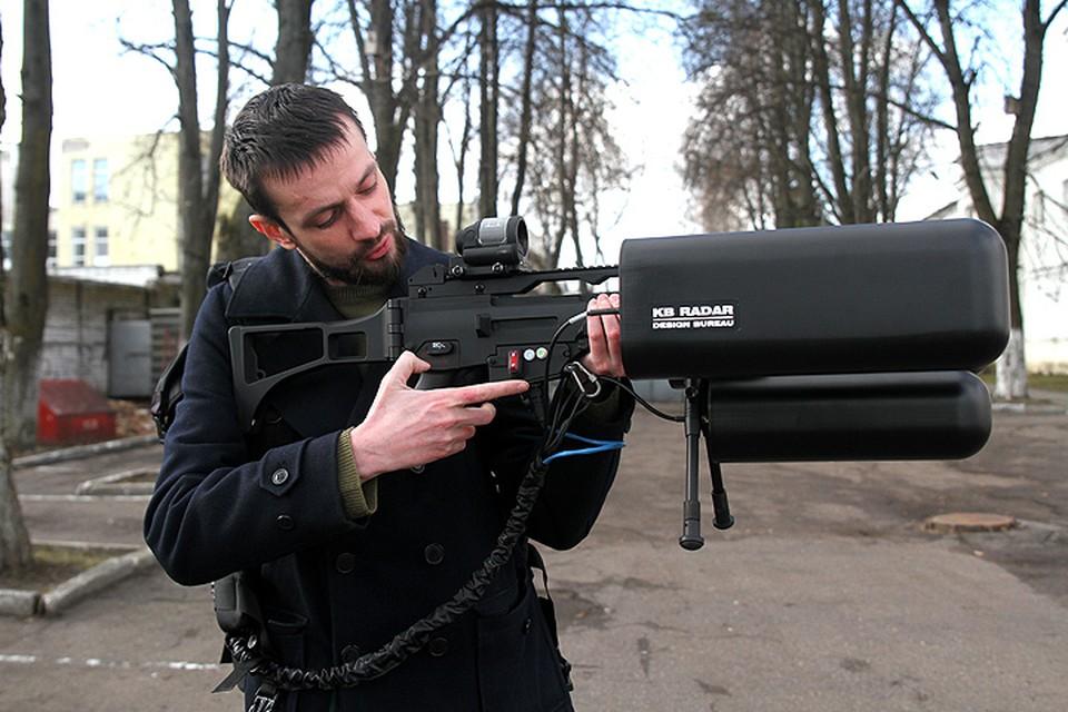 Корреспонденты «Комсомолки» первыми среди журналистов смогли испытать винтовку «Грозу-Р» в действии.