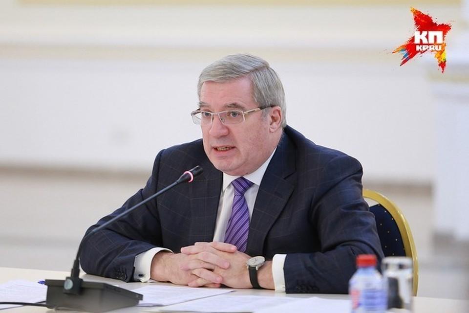 Виктор Толоконский, губернатор Красноярского края