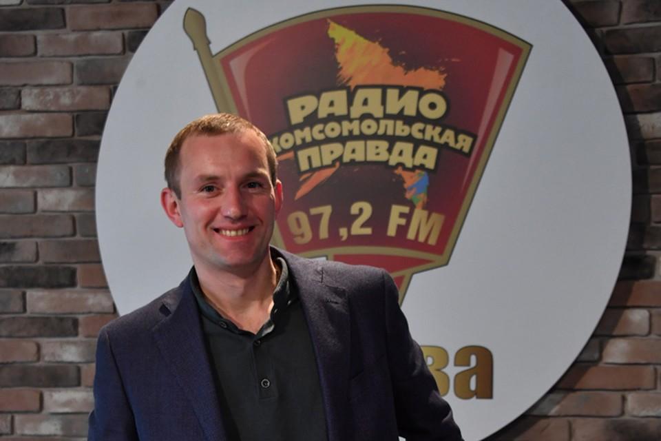 Первый замруководителя Департамента капремонта столицы Алексей Беляев.