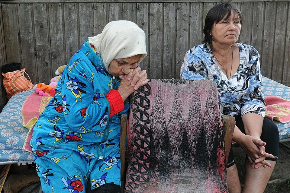 Сентябрь 2014 года, Московская область. Семья Кобченко бежала из охваченного войной украинского села Семеновка в Россию.