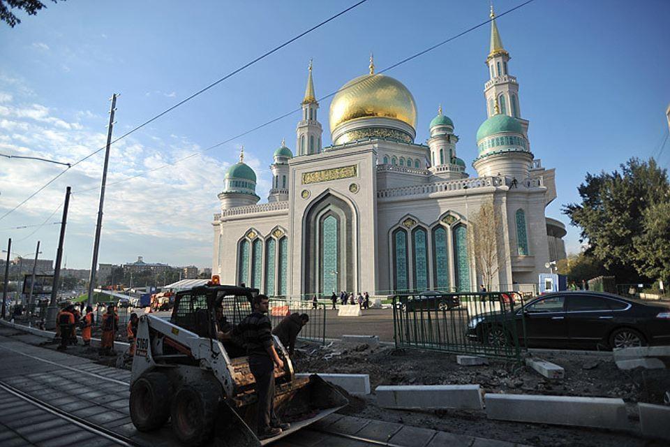Мечеть на проспекте Мира.