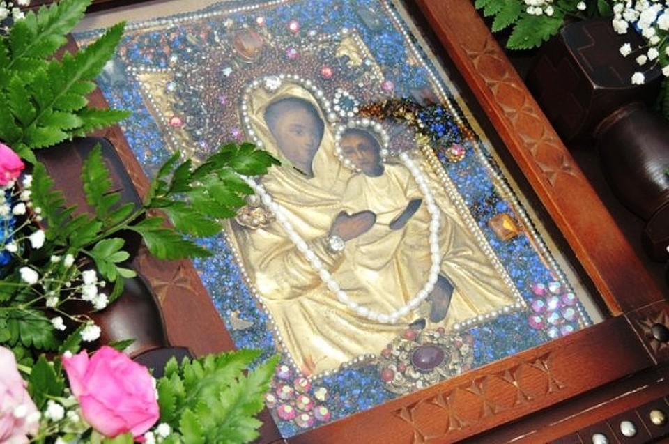 фото божией урюпинская икона матери