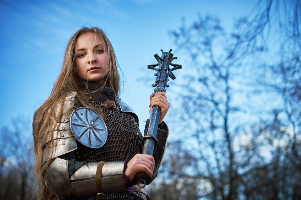 У каждого рыцаря есть свое имя. Таня их поменяла несколько: Мелкий, Хмурый, Угрюмый, сейчас она Сакура (фото из архива Татьяны Потеряйкиной)