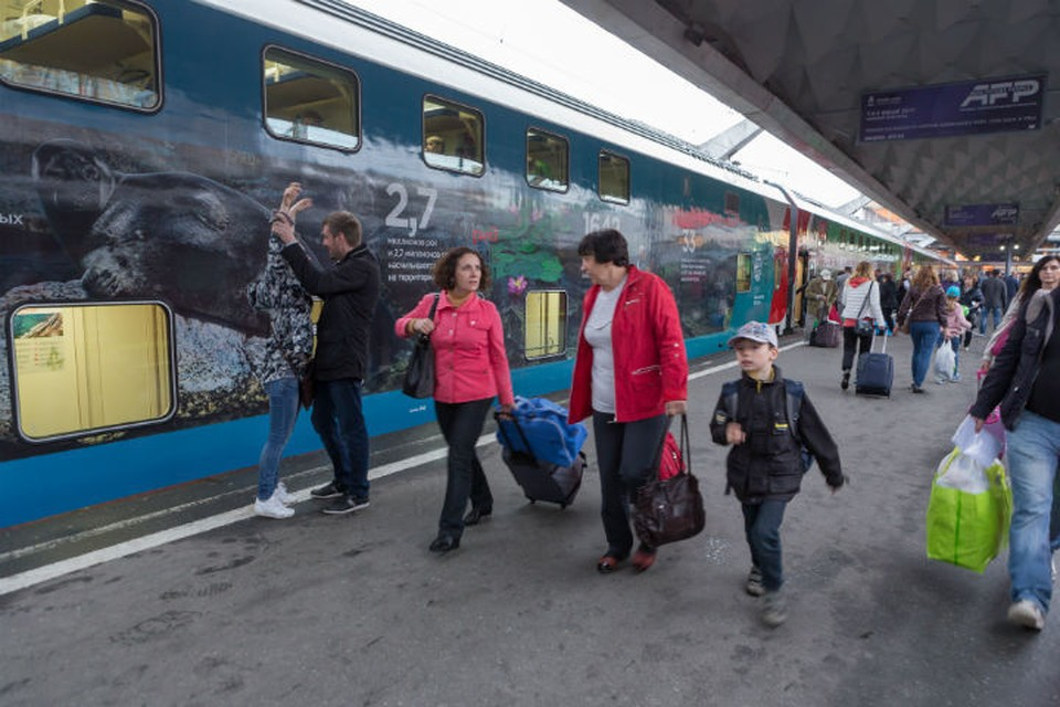 Поезд отправился из Петербурга в 20.27