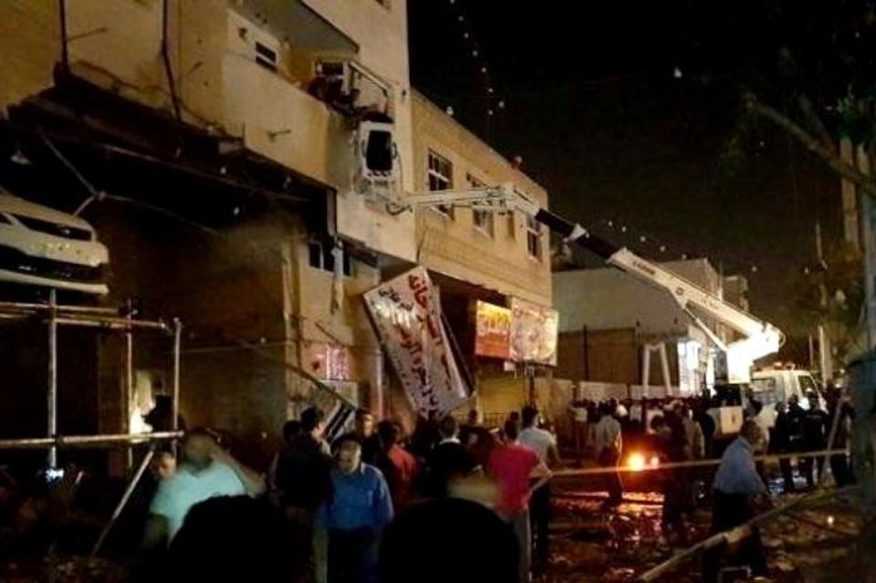 Взрыв в супермаркете в Ширазе