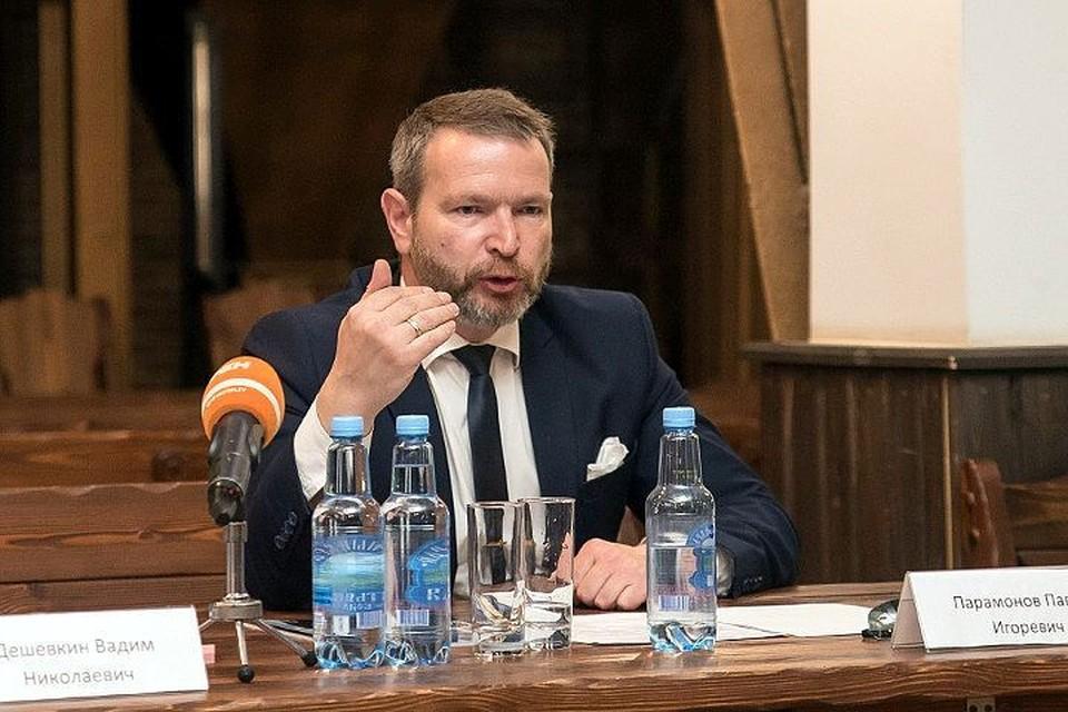 Павел Парамонов. Фото: Юлия Саранова.