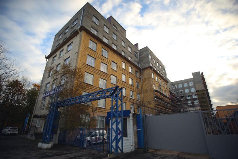 В этом здании на окраине Петербурга саентологи арендуют один из этажей для своей «церкви»