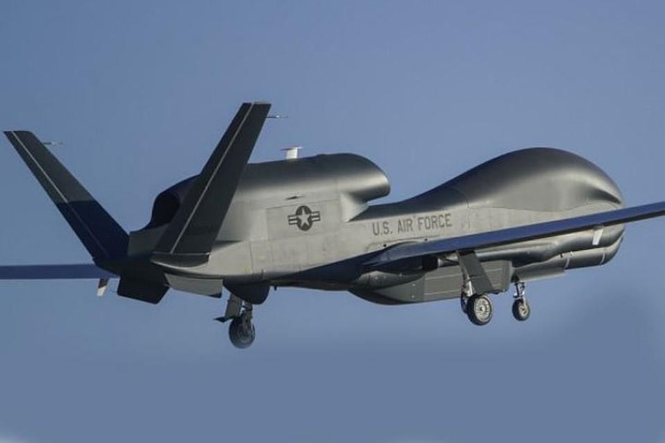 Беспилотник ВВС США провел разведку на линии разграничения в Донбассе