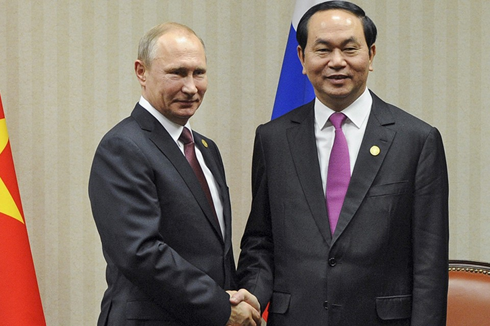 Два президента найдут много общего и договорятся о дальнейшем развитии отношений между Россией и Вьетнамом