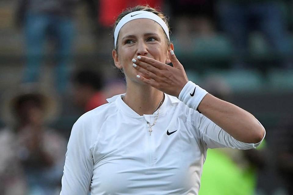Тенисистка случайно показала свои прелести
