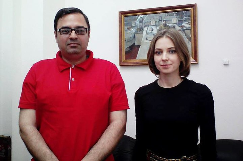 Ранее Вадим Манукян взял интервью у Натальи Поклонской.