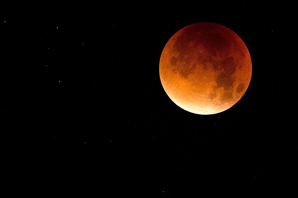 Лунное затмение 7 августа 2018 что закрывает луну