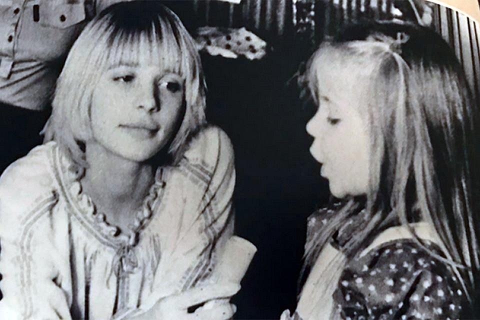 Вера Глаголева с дочерью Анной