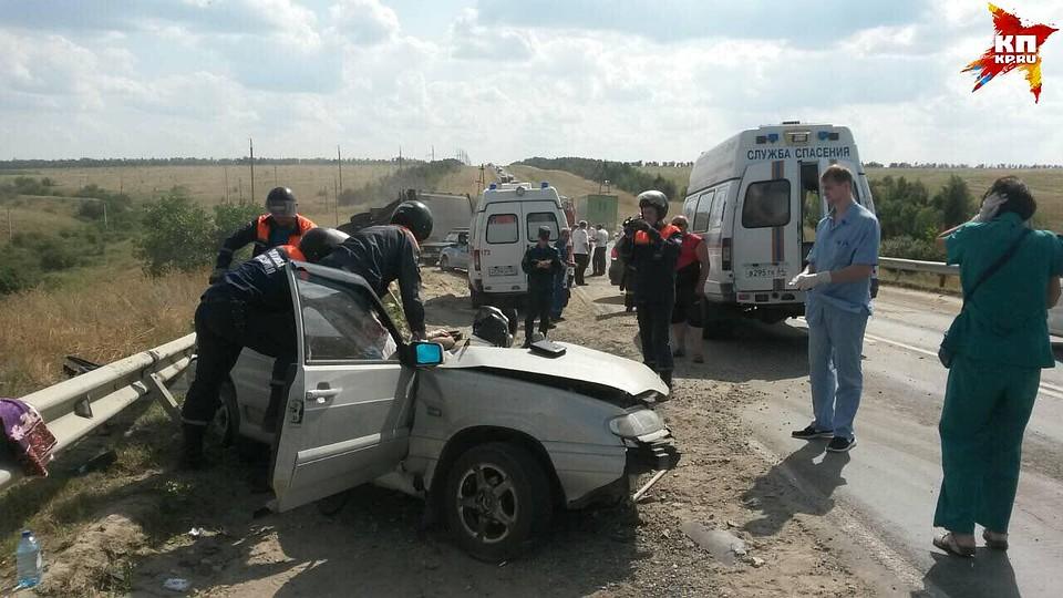 Водитель бюджетной организации попал в аварию
