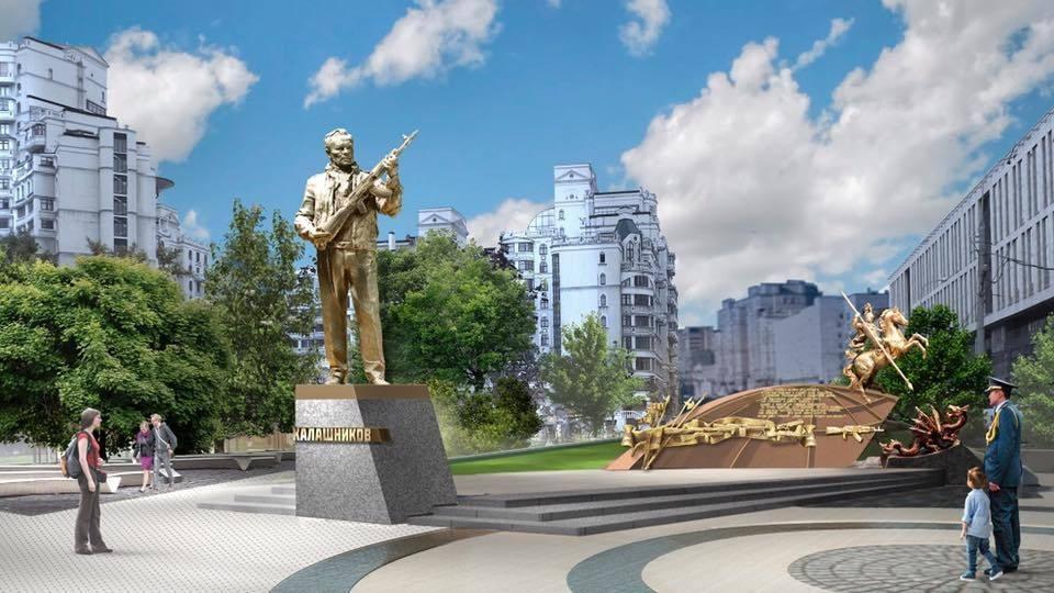 Фото: проект памятника