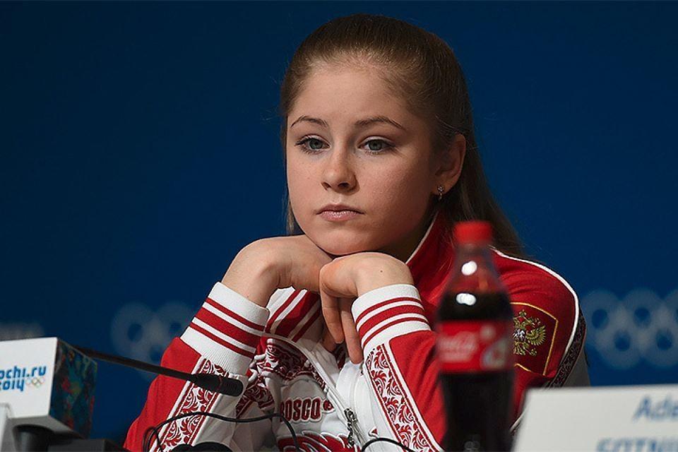 Молодая чемпионка Юлия Липницкая.