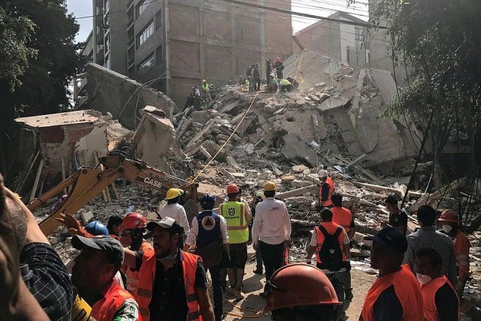 Мощное землетрясение в Мексике произошло во вторник, 19 сентября