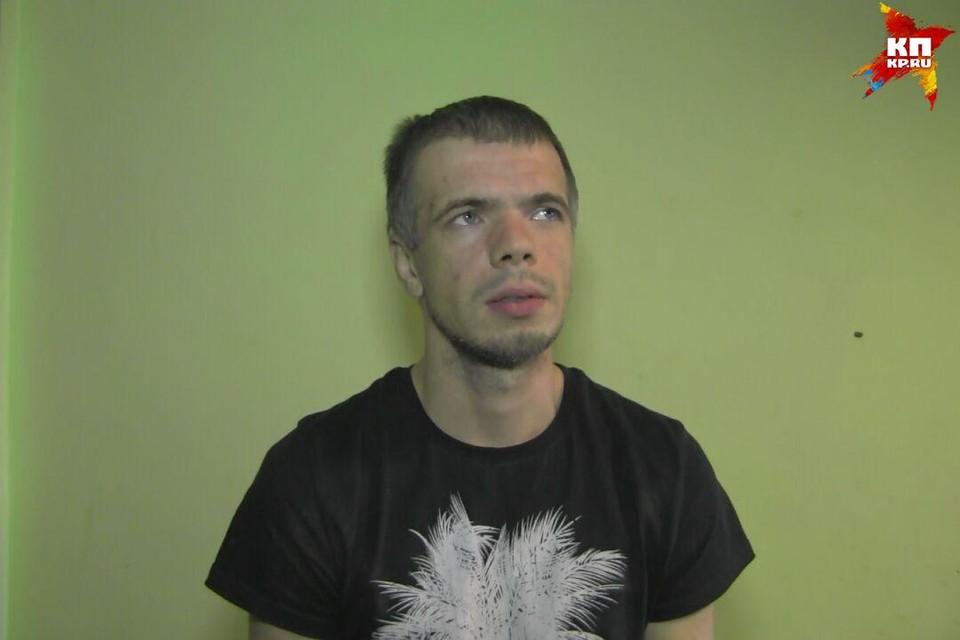 Задержанный за жестокое избиение на проспекте Строителей в Саратове.