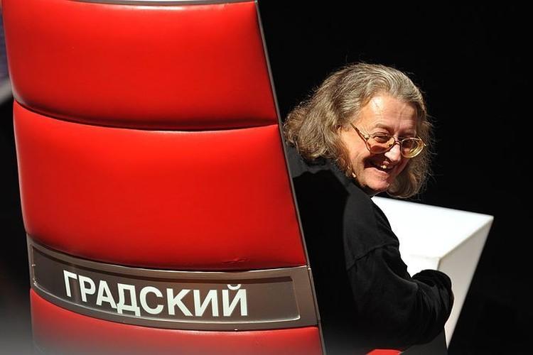 Исполнитель вверг сидящего к нему спиной Градского в состояние легкой истерики