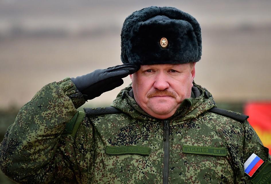 Генерал-лейтенант российских ВС Валерий Асапов. Фото: Юрий Смитюк/ТАСС