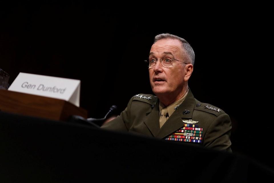 Глава объединенного комитета начальников штабов Вооруженных сил США генерал Джозеф Данфорд