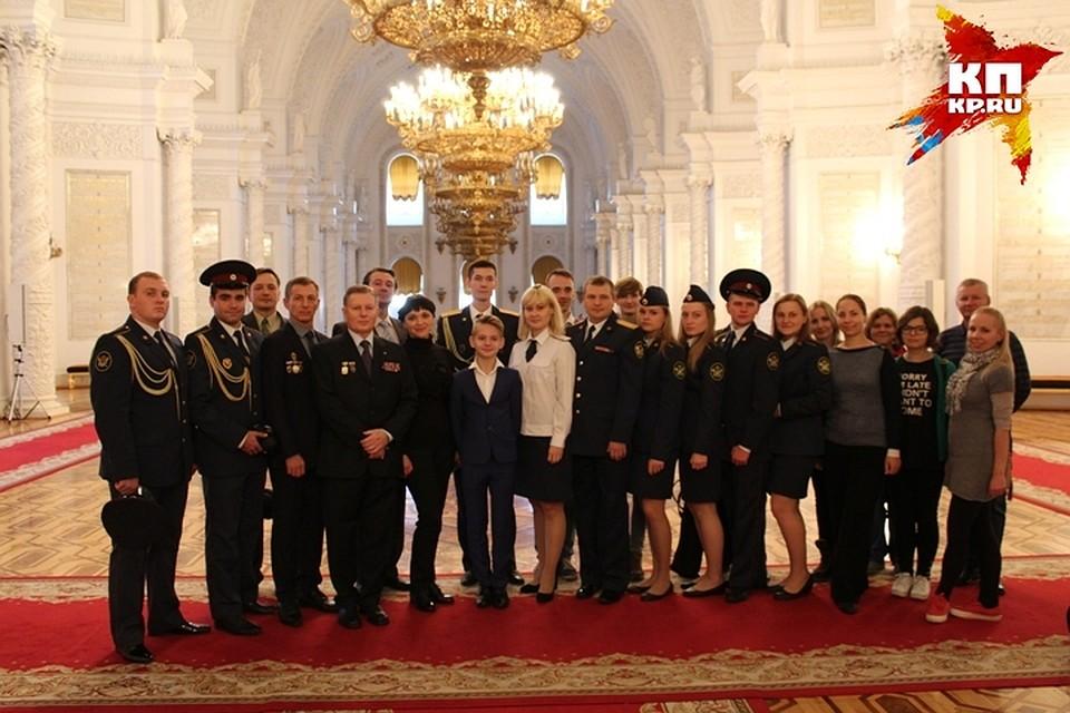 Экскурсия по Большому Кремлевскому Дворцу.
