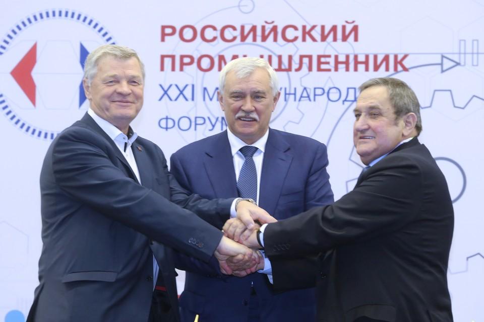 Социальное партнерство профсоюзов, власти и бизнеса - гарантия стабильности в Санкт-Петербурге.