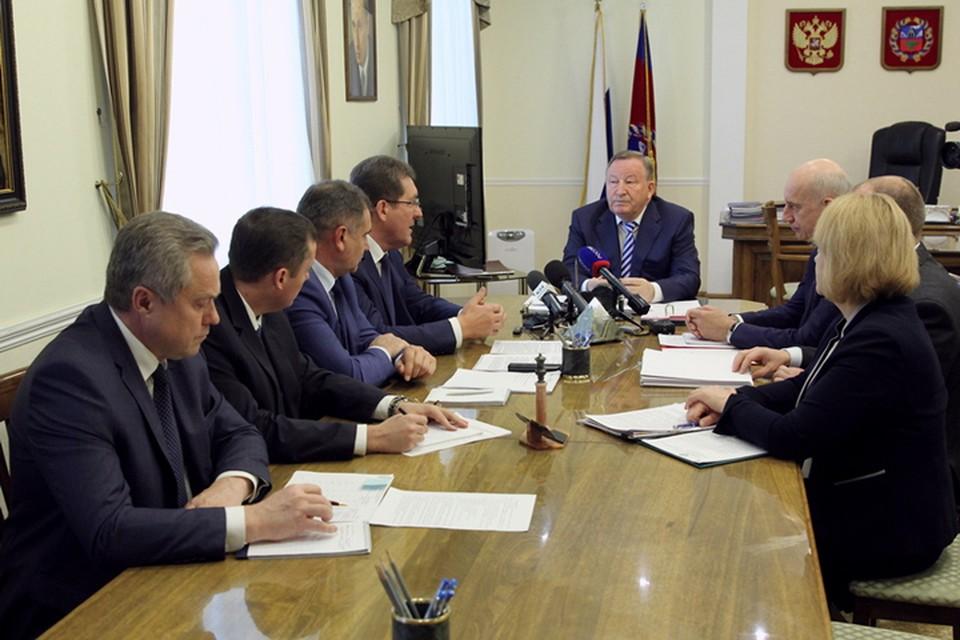 Александр Карлин и Сергей Дугин обсудили развитие Барнаула