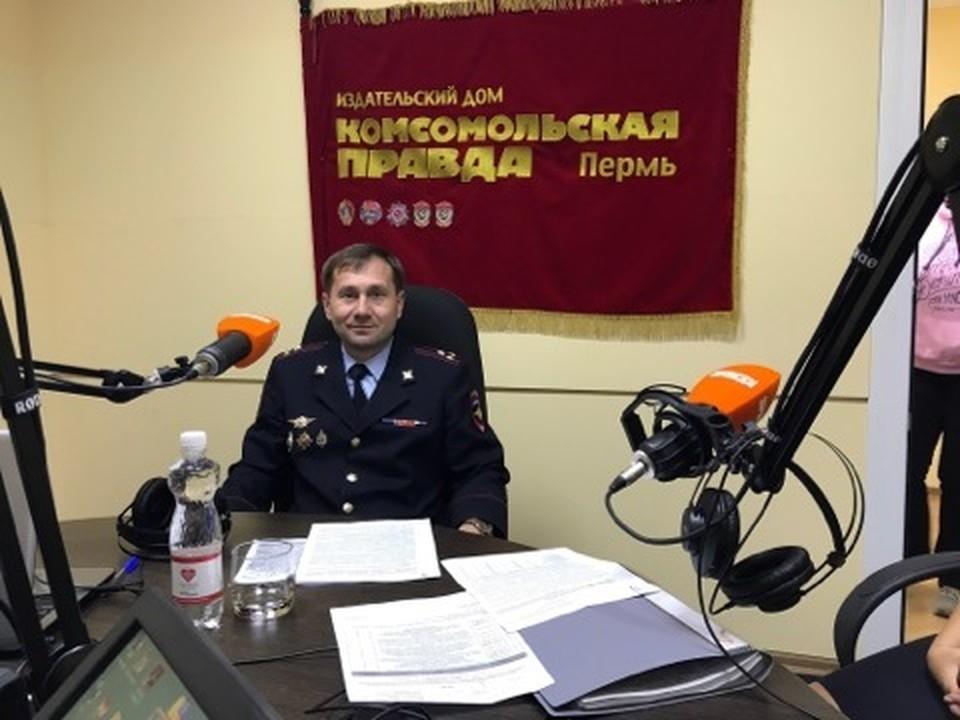 Исполняющий обязанности начальника УГИБДД Пермского края полковник полиции Алексей Карин
