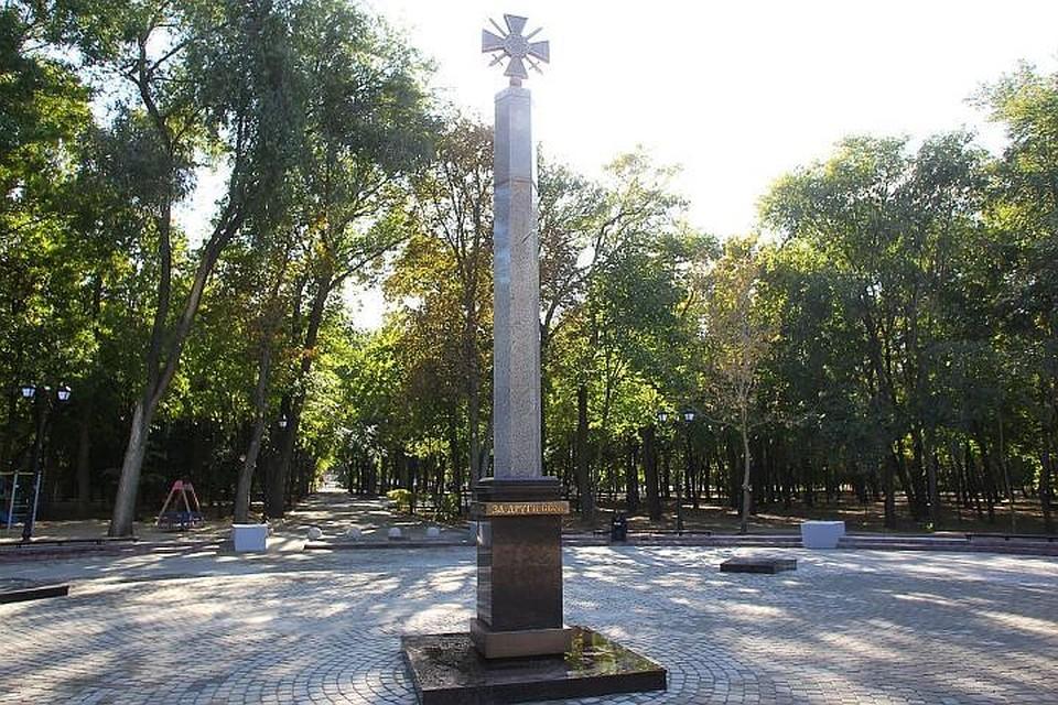 Памятник с крестом Чкаловск надгробие пейчев