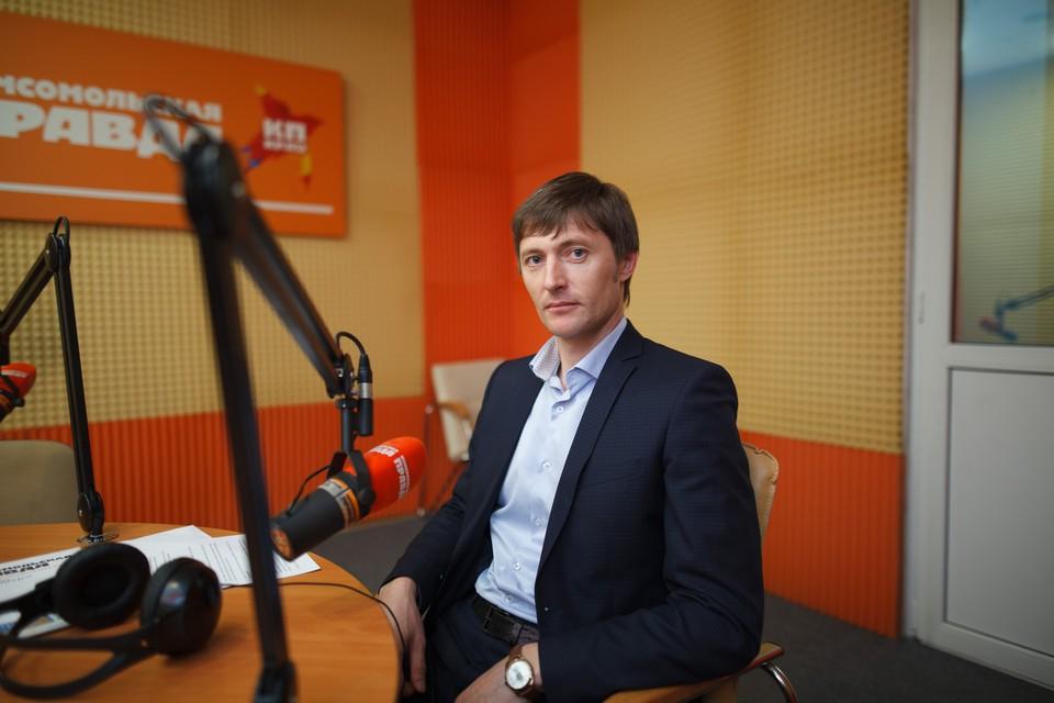 Директор дирекции особо охраняемых природных территорий Ставропольского края Денис Слынько