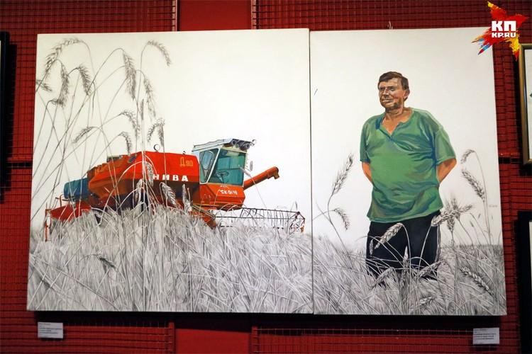 В «Руспублике ИЗО» представили свой картины больше 100 художников. Выставка будет работать до 29 декабря.