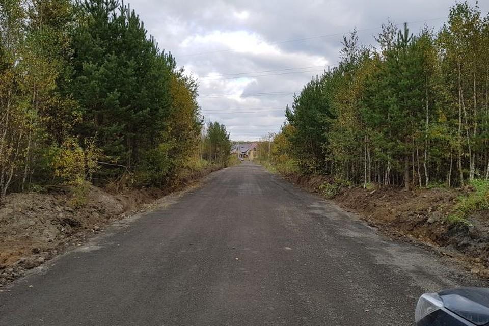 По заверениям местных жителей, раньше на этой дороге было много ям. Фото: Илья Тулынкин