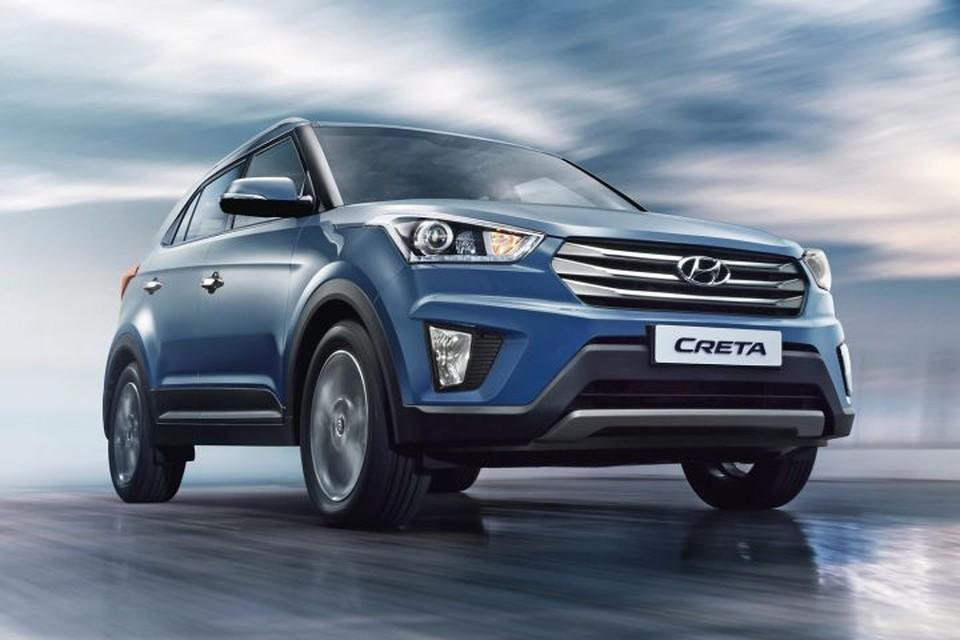 Hyundai Creta - самый популярный кроссовер в России