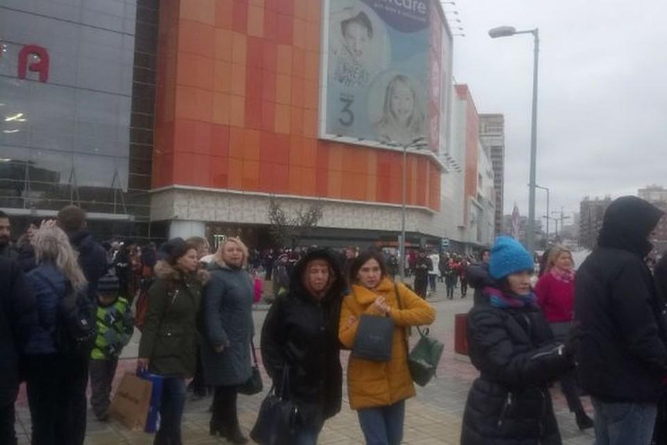 В Новосибирске из торговых центров