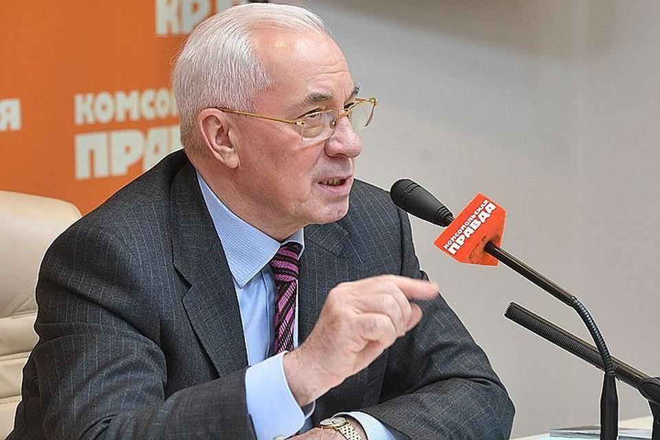 """Николай Азаров на пресс-конференции в """"Комсомольской правде"""""""