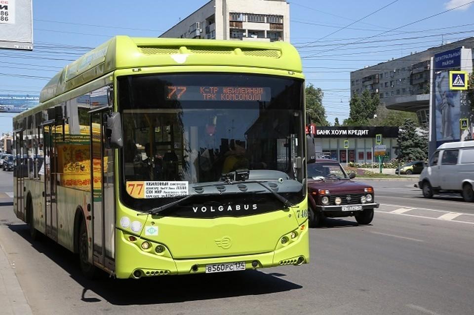 Отныне на 77-м маршруте будет работать 41 автобус. Фото администрации Волгограда.