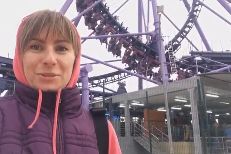В Сочи посетители застряли на самом высоком и быстром аттракционе в России