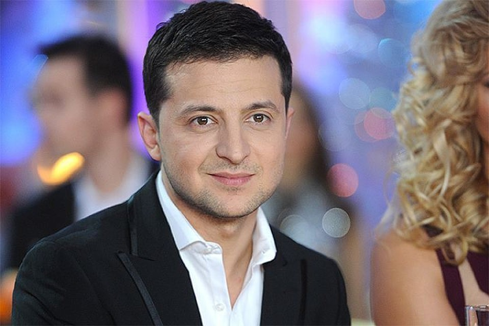 Украинский актер Владимир Зеленский