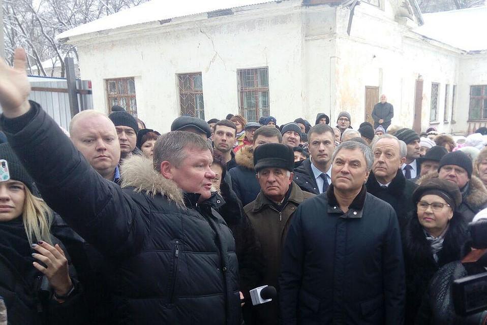 Вячеслав Володин даст 10 миллионов рублей на строительство благотворительного дома в Елшанке
