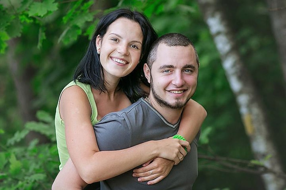 Семейное фото из архива Риты Грачевой и её мужа не предвещает никакой будущей трагедии.