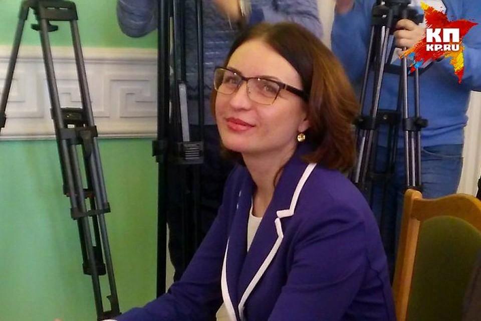 Оксану Фадину избрали в ноябре.