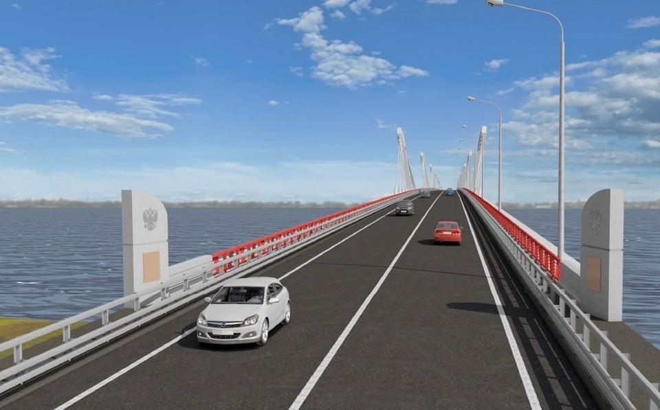 Будущий мост через Амур.