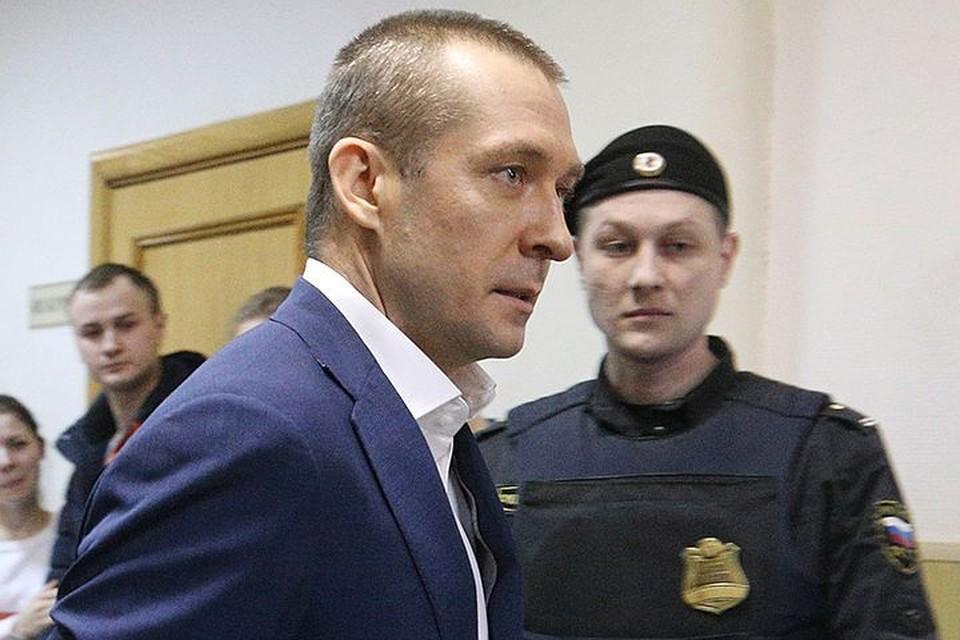 Захарченко уже 1,5 года находится в СИЗО