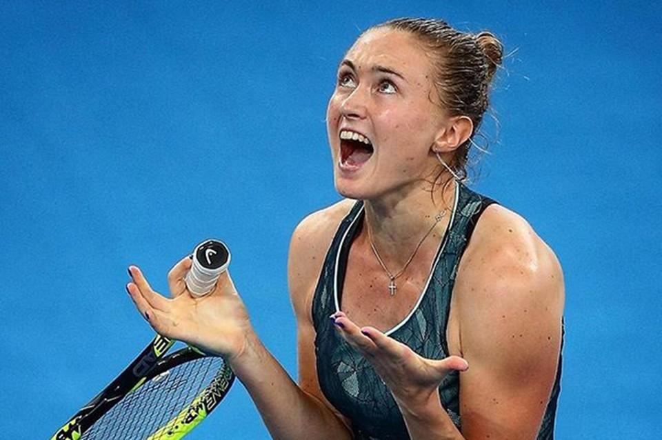 Саша впервые в своей карьере вышла в финал турнира серии «Премьер». Фото: соцсети