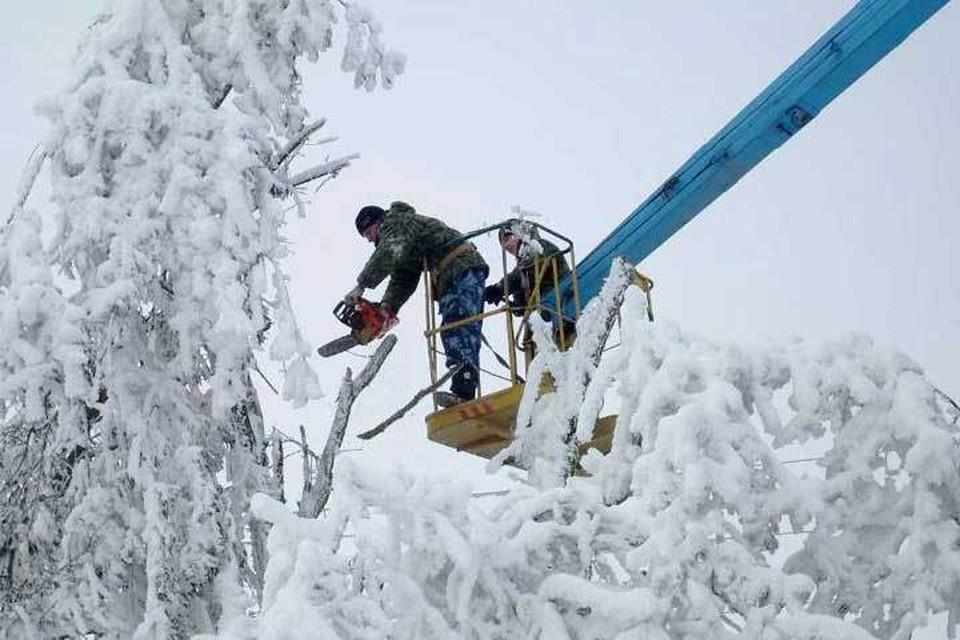 Энергетики Северного Кавказа победили непогоду