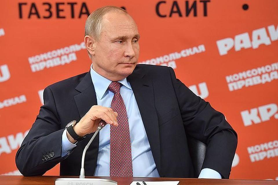 Путин считает провокацией атаку беспилотниками российской базы в Сирии