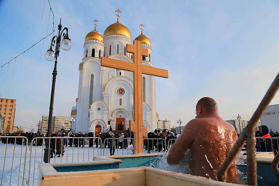 Где в Красноярске в 2019 году будут оборудованы для купания проруби на Крещение?